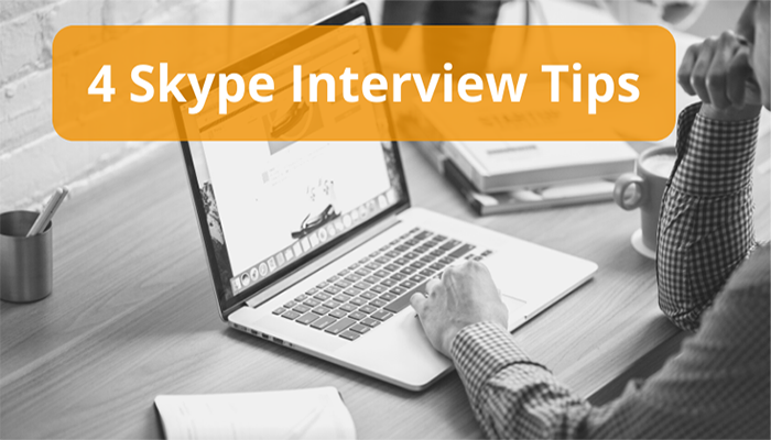 skype interview tips